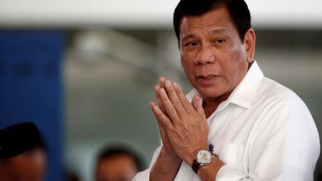 Philippine President Rodrigo Duterte © Erik De Castro