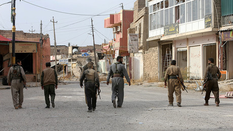 Members of Peshmerga forces © Alaa Al-Marjani / Reuters