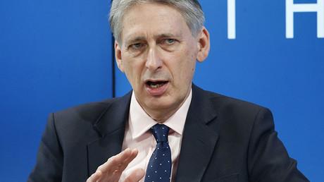 Tory Chancellor Philip Hammond. ©Ruben Sprich
