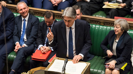 British Chancellor of the Exchequer Philip Hammond ©