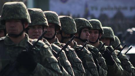 Kosovo security forces © NurPhoto