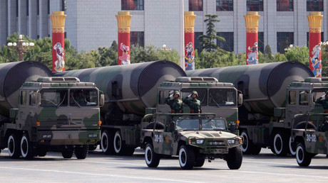 Nuclear-capable missiles, Beijing © Nir Elias
