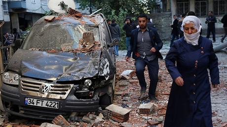 Diyarbakir, Turkey, November 4, 2016. ©Sertac Kayar
