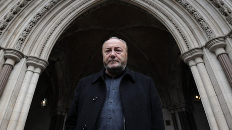 Politician George Galloway. © Carl Court