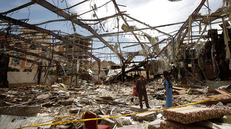 Over 20 dead in airstrike on market in Yemen (GRAPHIC VIDEO)