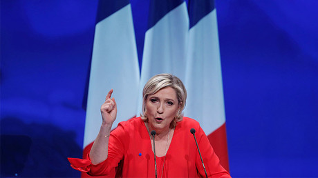 Marine Le Pen, French National Front (FN) political party © Christian Hartmann