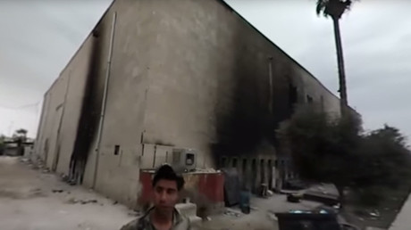 360° Mosul: Ruptly films destroyed museum while mortar rounds fall outside (EXCLUSIVE VIDEO)