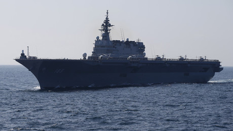 The Izumo military helicopter carrier of the Japan Maritime Self-Defense Force © Toru Hanai / Reuters