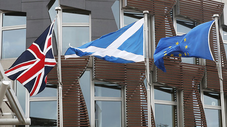 Is Britain dragging Scotland out of the EU against its will?
