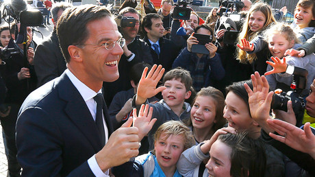 Dutch Prime Minister Mark Rutte of the VVD party © Michael Kooren