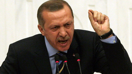 Erdogan accuses EU of anti-Islam 'crusade' over headscarf ruling