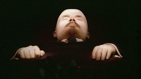 The embalmed body of Vladimir Lenin in the Mausoleum in Red Square. © Oleg Lastochkin