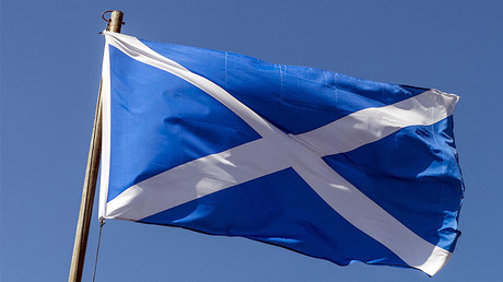 Scottish flag © Stephan Goerlich