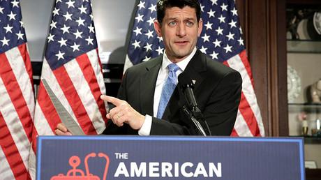 Speaker of the House Paul Ryan © Joshua Roberts