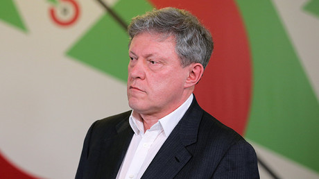 Grigory Yavlinsky, Chairman of the Yabloko Party Federal Political Committee © 