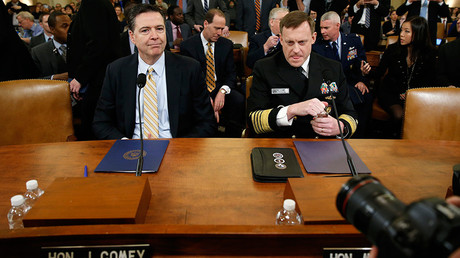 FBI & NSA chiefs testify in Congress on Trump, Russia, wiretapping