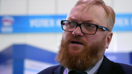 Member of the State Duma International Committee Vitaly Milonov © Iliya Pitalev