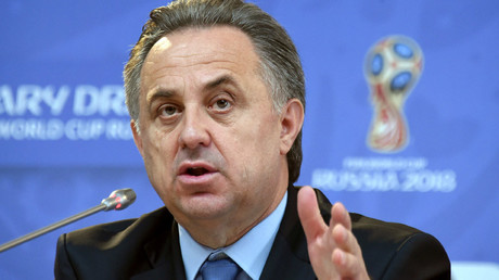 Russian Sport Minister Vitaly Mutko © Marcus Brandt