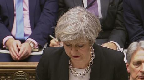 Theresa May tells Parliament terrorist attacker was UK national known to MI5