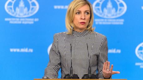 Foreign Ministry Official Spokeswoman Maria Zakharova © Evgenya Novozhenina
