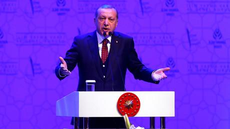 Turkish President Tayyip Erdogan © Murad Sezer