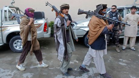 Taliban members join a peace reconciliation program in Jalalabad province © Parwiz