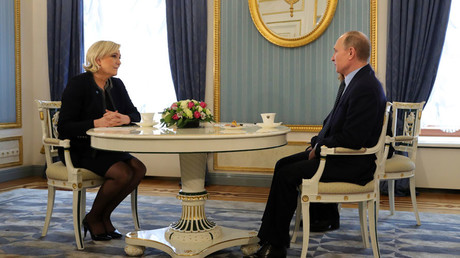 Russia reserves right to meet any French politician it wants to – Putin to Le Pen