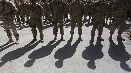 FILE PHOTO: U.S. troops, Kabul © Omar Sobhani