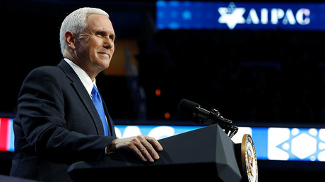 US Vice President Pence confirms Trump is mulling Israel embassy Jerusalem move