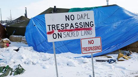 Oil placed in Dakota Access Pipeline as service set to begin