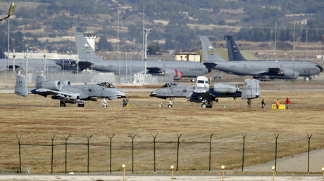 Incirlik airbase in the southern city of Adana, Turkey. © Umit Bektas