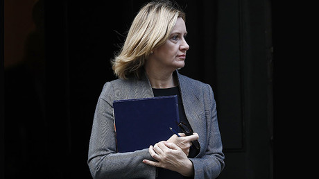 Britain's Home Secretary Amber Rudd © Stefan Wermuth