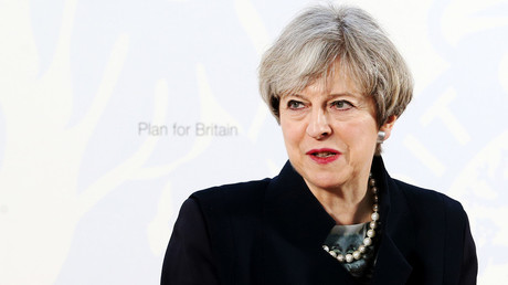 Britain's Prime Minister Theresa May © Jane Barlow