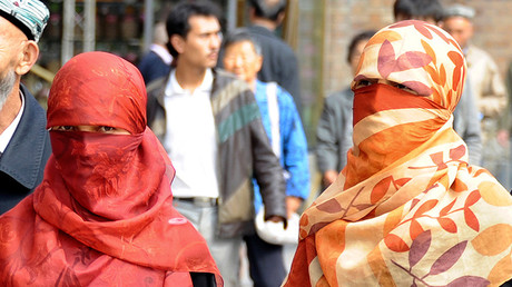 China bans 'abnormal' beards & veils to curb extremism in Muslim region