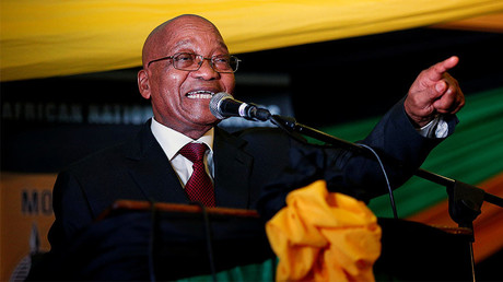South African President Jacob Zuma © Rogan Ward