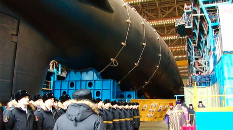 Russia increases nuclear sub fleet, combat patrols reach Soviet-era levels