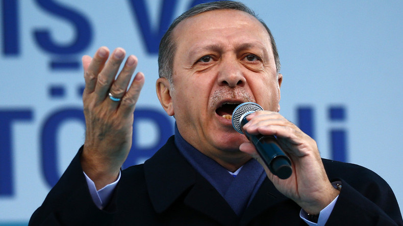 'Guardian of peace' Erdogan urges Kurds to expand his powers in referendum