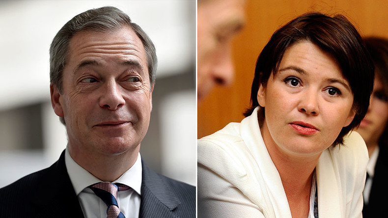 Nigel Farage 'dating' French politician 16yrs his junior, says glamor model