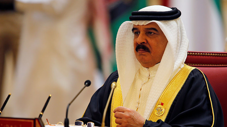 Bahrain king paves way for military courts to try civilians