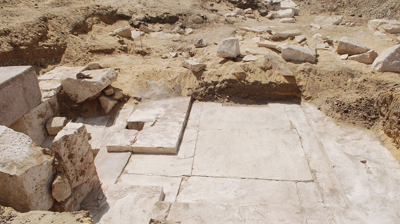 3,700yo pyramid remains found near ancient Egyptian burial site (PHOTOS)