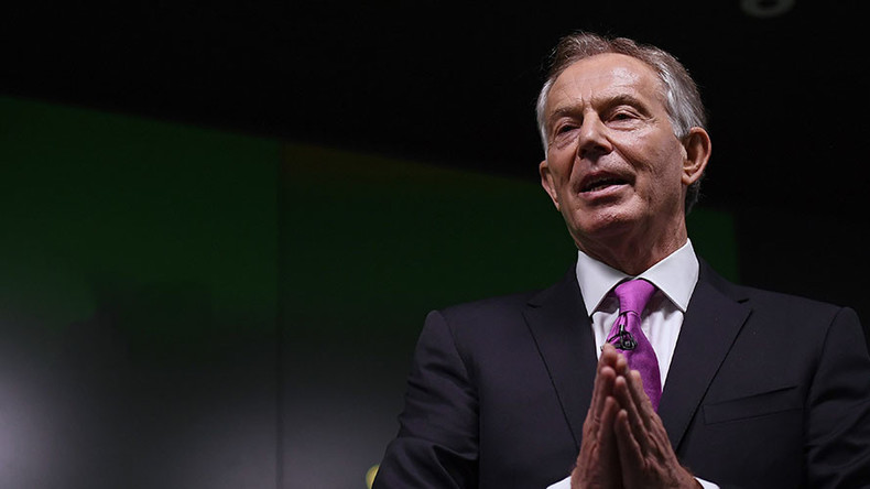 Tony Blair attacks Corbyn's 'ultra-leftist' Labour for failing to oppose Tories