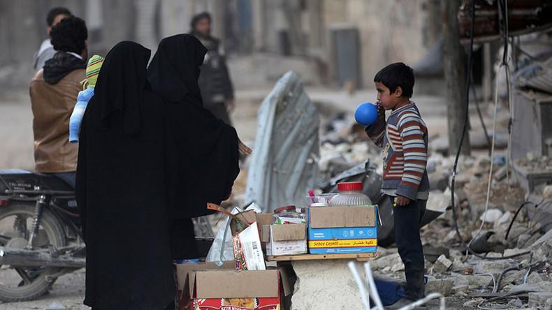 Western sanctions against Syria block humanitarian relief