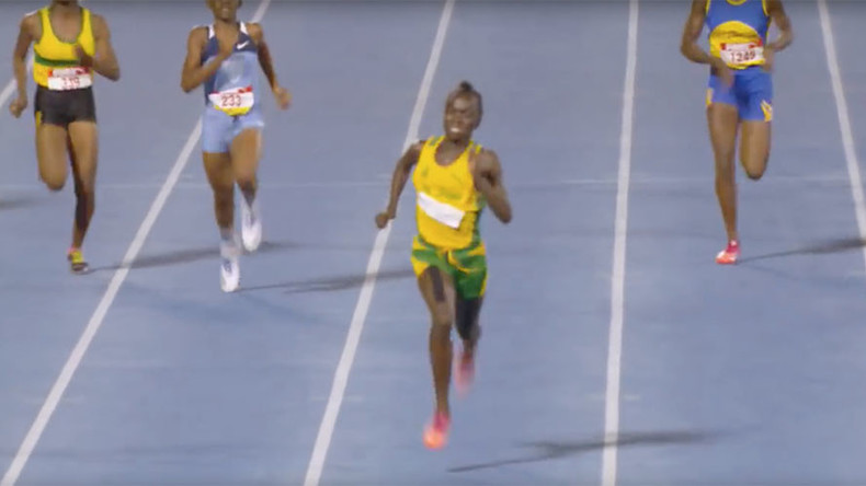 Next Usain Bolt? Introducing 12-year-old sprint sensation Brianna Lyston