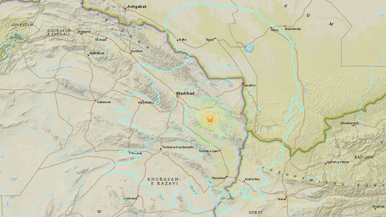 6.1 earthquake hits near Iran's second-largest city at depth of 13km