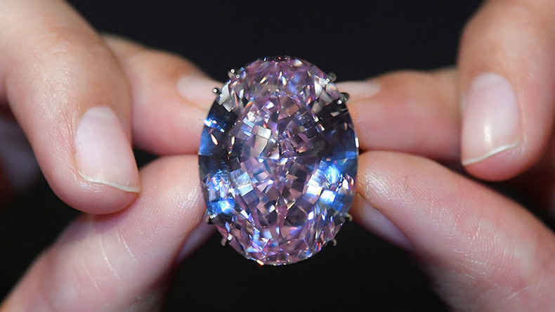 'Pink Star' diamond sells for record $71.2mn at Sotheby's auction