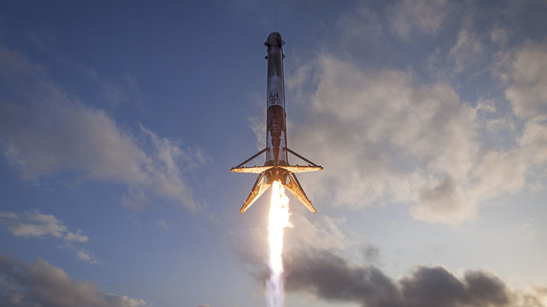 'World's first recycled flight': SpaceX release 'lost' footage of Falcon 9 landing (VIDEO)
