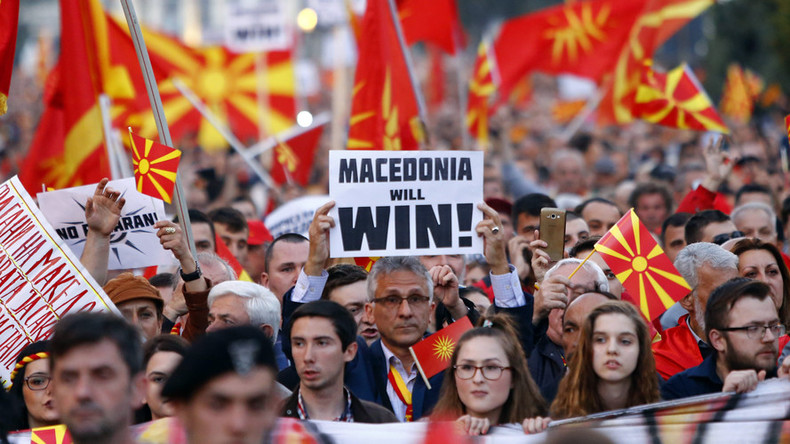 'Macedonia political crisis may dash dreams for EU-NATO membership'