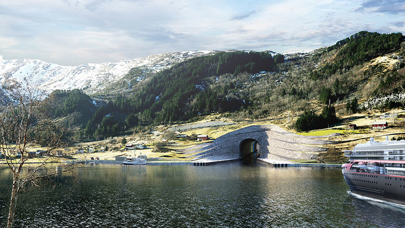 Norway confirms plans to build first-ever sea tunnel for ships