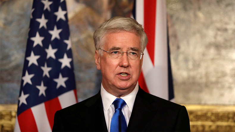 UK govt 'fully supports' US missile strike on Syria