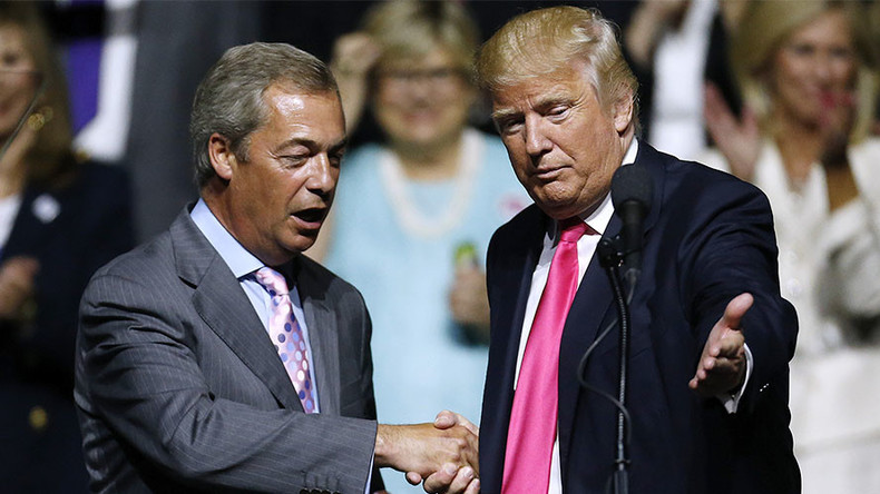 Nigel Farage turns on ally Donald Trump after US missile strike on Syria